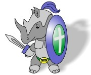 Armorhino in his Armor of God